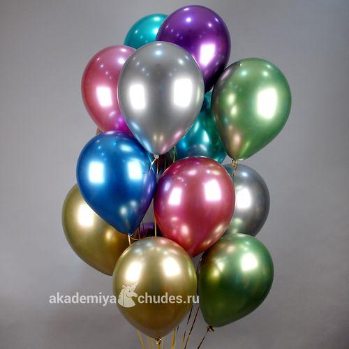 Облако из 15 воздушных шаров