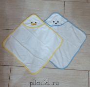Полотенце с капюшоном для игрушек