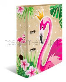 Файл А4 7см Herma Тропики Королева фламинго 19393