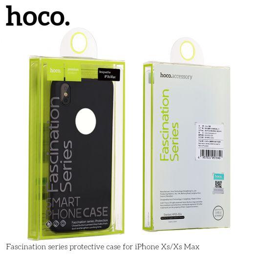 Защитный чехол HOCO Fascination series для iPhoneXS Max, черный с отверстием