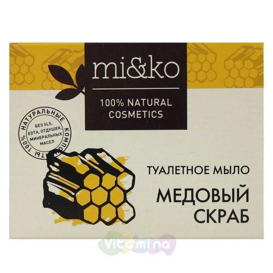 Mi&Ko Туалетное мыло Медовый скраб, 75 г