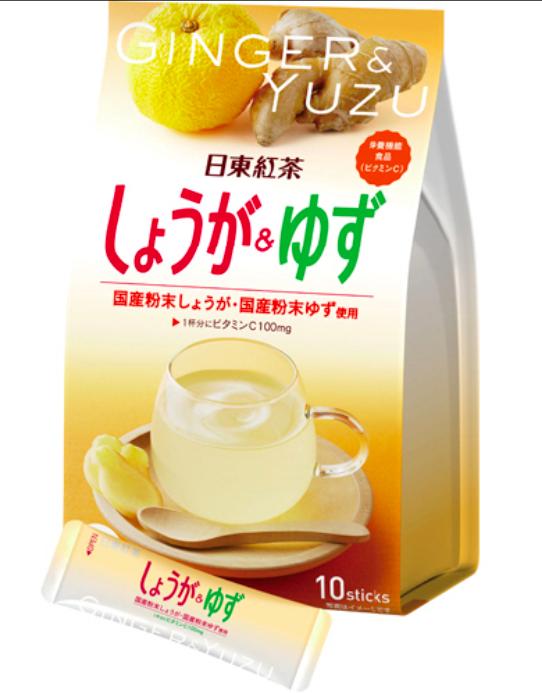 Имбирный напиток Nittoh Tea с витамином С