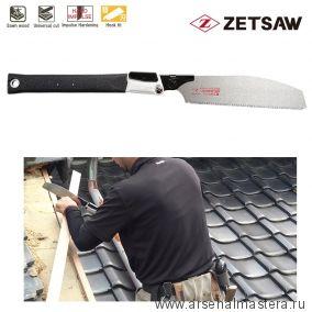 Акция! Минус 15% Пила японская складная плотницкая Kataba V Handy 200 Carpentry Saw 200 мм 15TPI ZetSaw 18411