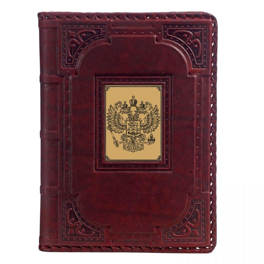 Ежедневник А5 «Герб-1» с сублимированной накладкой