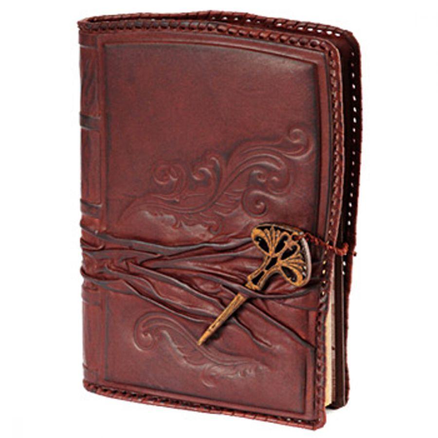 Ежедневник А5 «Мудрость» Бордовый