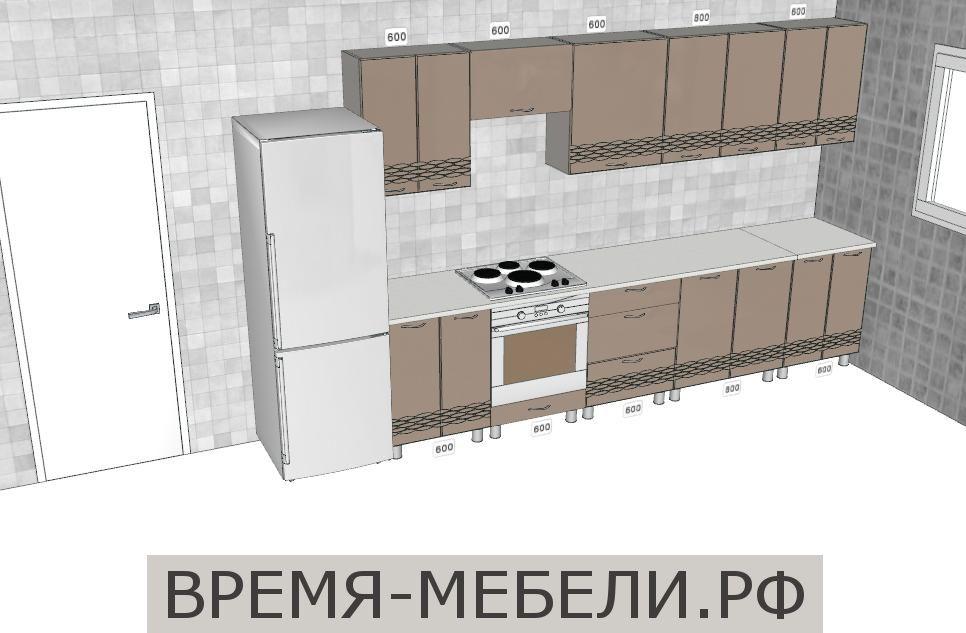 Кухня Волна 3200 мм