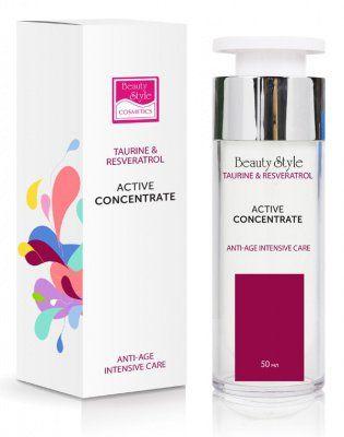 Активный концентрат Anti Age plus Taurine & Resveratrol Beauty Style (Бьюти Стайл) 50 мл