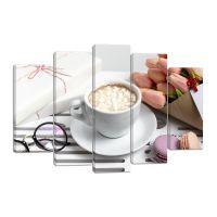 Модульная картина Кофе 5