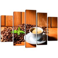 Модульная картина Кофе 11