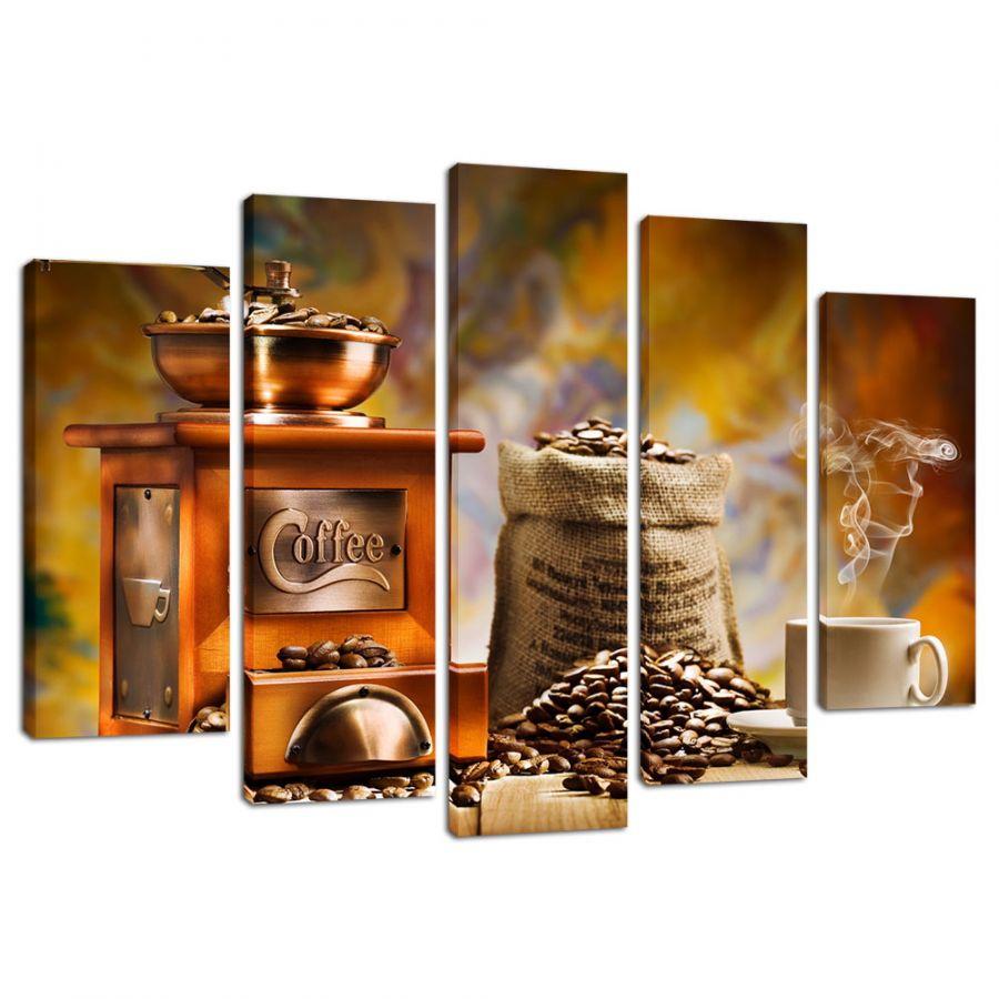 Модульная картина Кофе 22