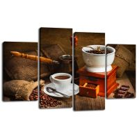 Модульная картина Кофе 24