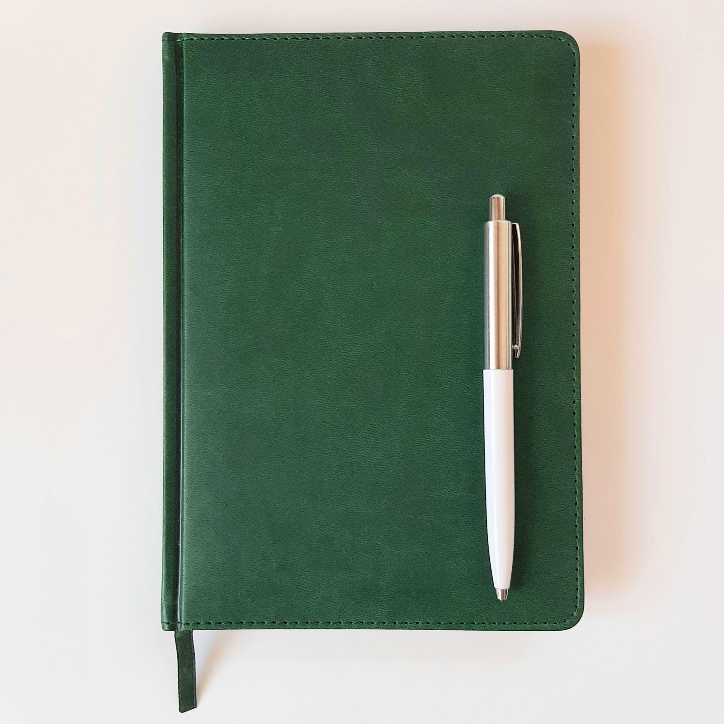 ежедневники с ручкой