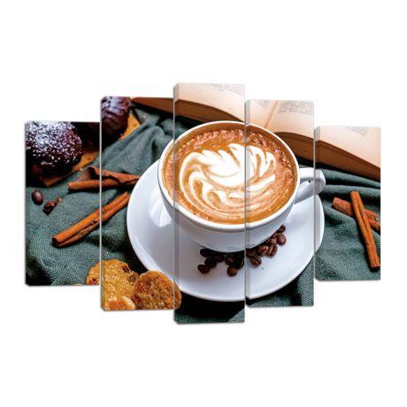 Модульная картина Кофе 1