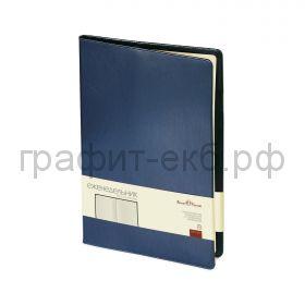 Еженедельник недат.214х294 BrunoVisconti PROFY синий 64 л. 3-098/01