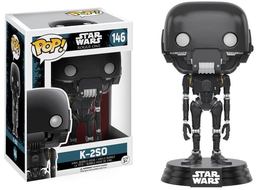 Фигурка Funko POP! Bobble: Star Wars: Rogue One: K-2SO 10454