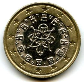Португалия 1 евро 2010