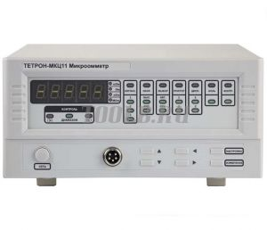 ТЕТРОН-МКЦ11 Микроомметр цифровой от 10 мкОм до 20 кОм