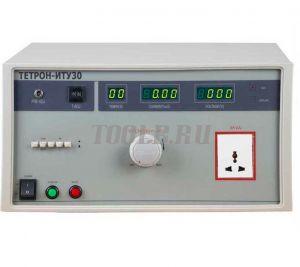 ТЕТРОН-ИТУ30 Измеритель тока утечки мощностью 3 кВА