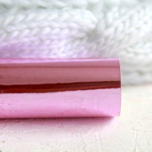 Экокожа для кукольных ботиночек - Зеркальный сиренево-розовый 30х20