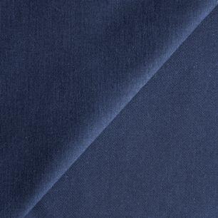 Ткань Хлопок однотонный темно-синий 50x40