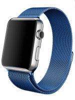 Ремешок миланская петля для часов Apple Watch 38/40mm Голубой