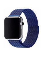 Ремешок миланская петля для часов Apple Watch 38/40mm Синий