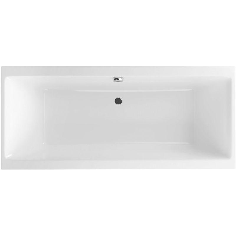 Акриловая ванна Excellent Pryzmat 150 Белая ФОТО