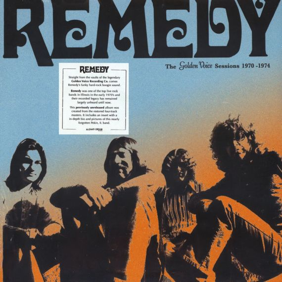 Remedy - The Golden Voice Sessions 1970-1974 (2016) LP