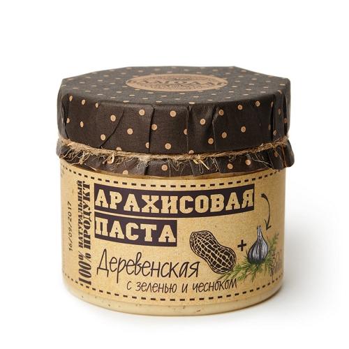 """Арахисовая паста """"Деревенская"""", 300 г"""