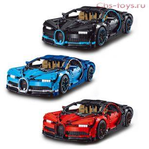 Конструктор Decool Technic Bugatti Chiron 3388 (Аналог LEGO Technic 42083) 3625 дет