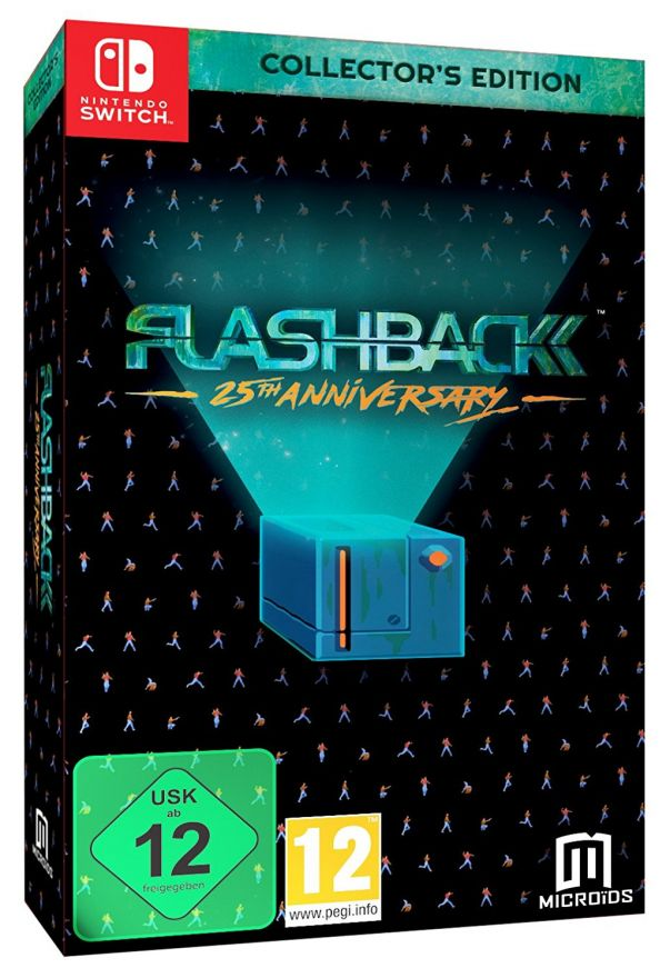 Flashback: 25th Anniversary. Collectors Edition (Nintendo Switch)