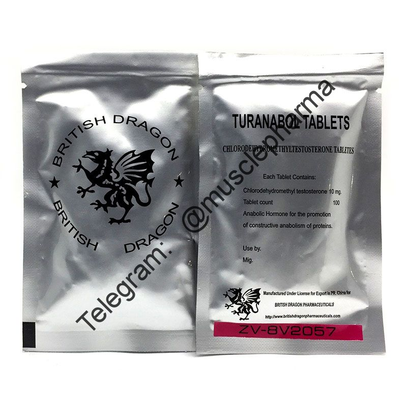TURANABOL BD (ТУРИНАБОЛ). BRITISH DRAGON. 100 таб. по 10 мг. !!!100% ОРИГИНАЛ!!!