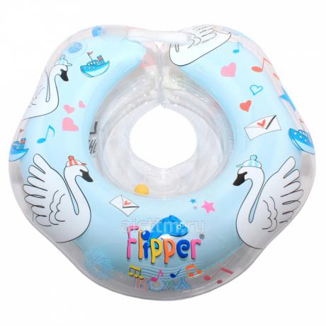 Круг для плавания FLIPPER 0+ с музыкой ЛЕБЕДИНОЕ ОЗЕРО