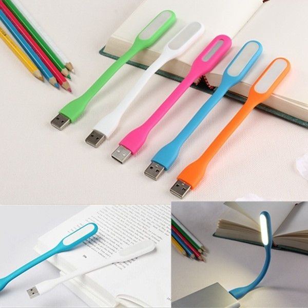 Гибкий LED светильник от USB