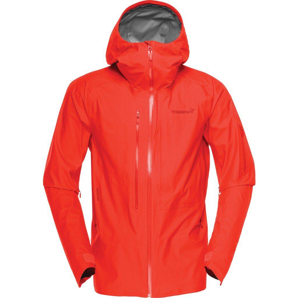 Norröna Lofoten Gore-Tex Active Jacket (M) AREDNALIN RED
