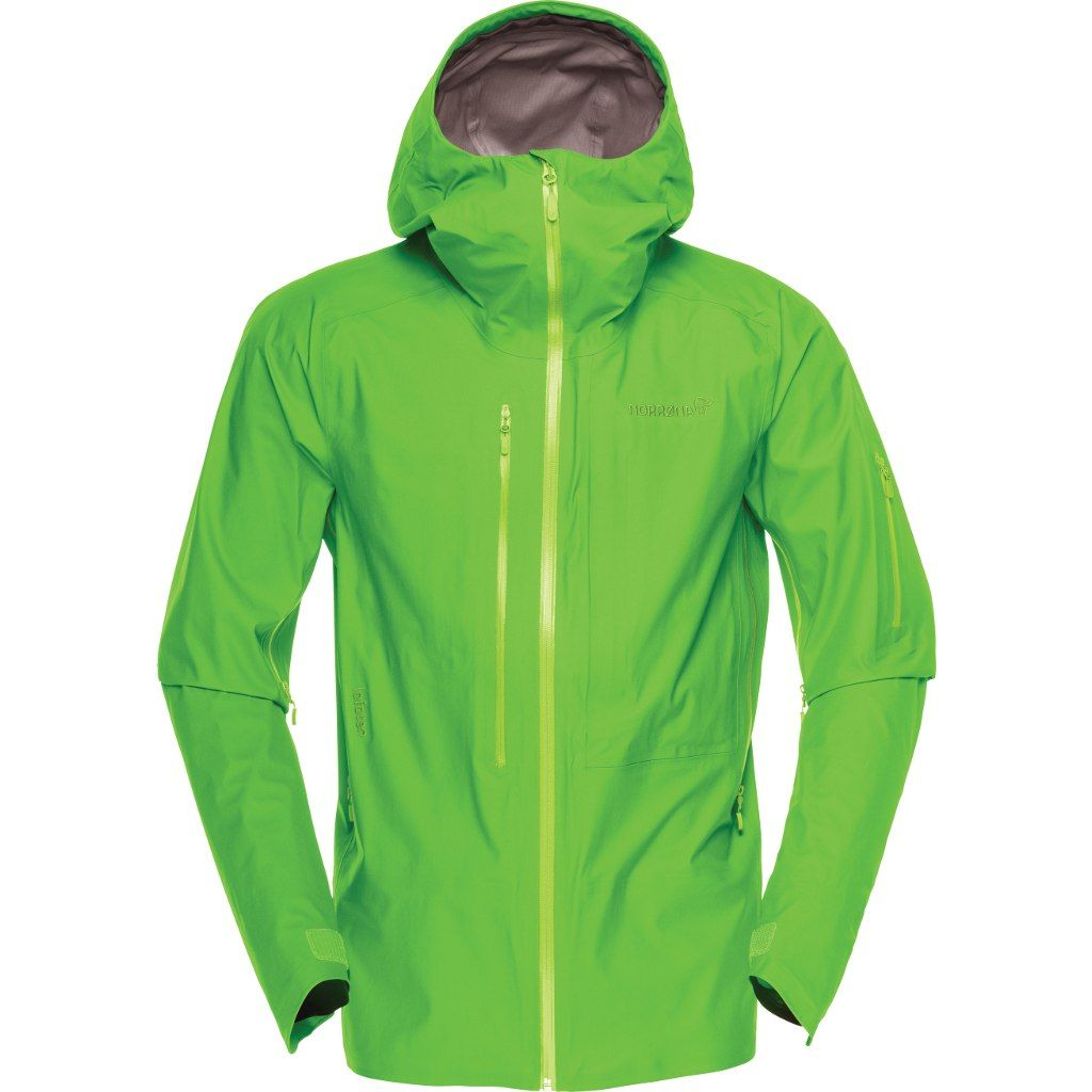Norröna Lofoten Gore-Tex Active Jacket (M) CLEAN GREEN