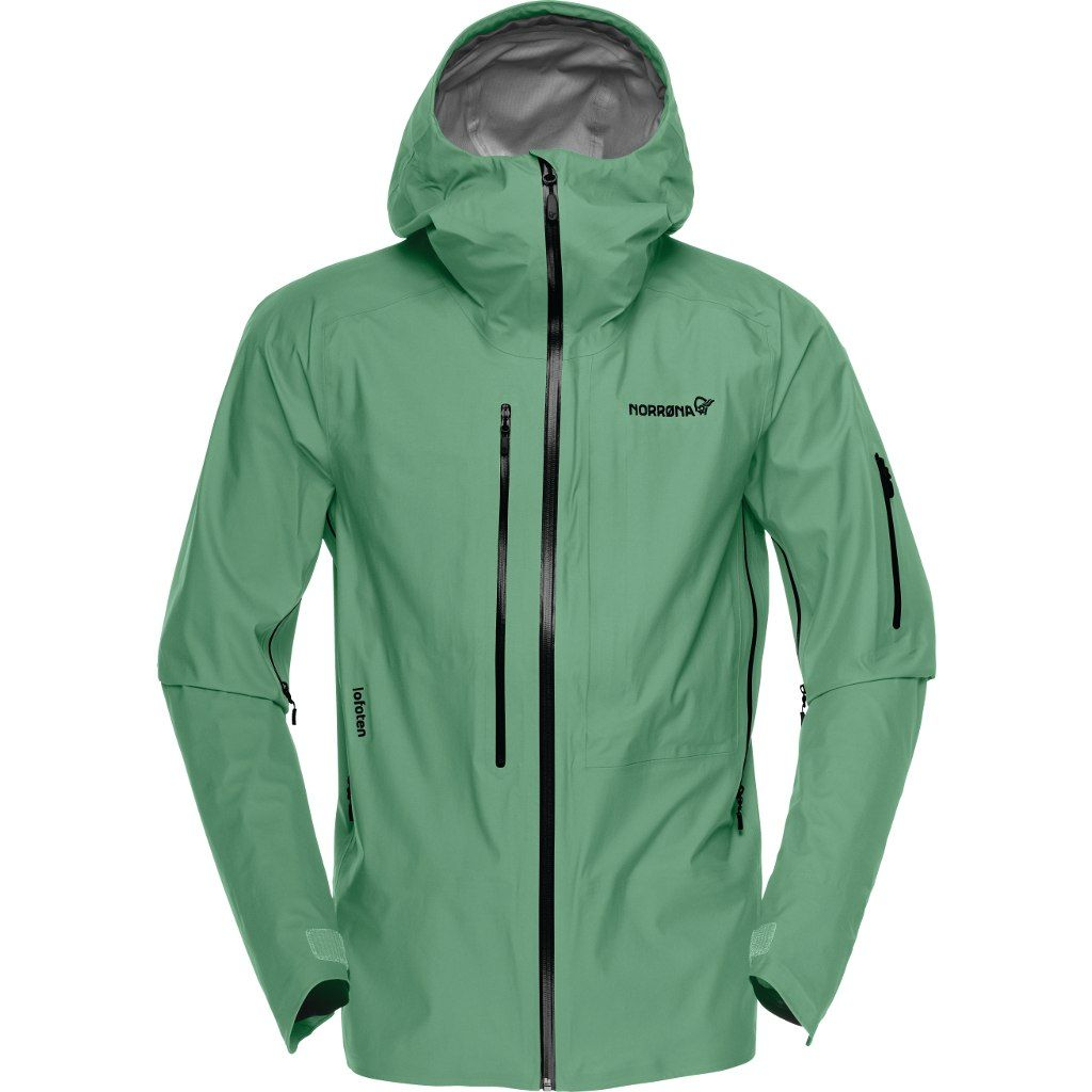 Norröna Lofoten Gore-Tex Active Jacket (M) DARK IVY