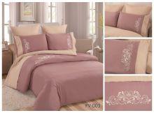 Постельное белье Перкаль с вышивкой 2-спальный Арт.PV-005-2