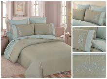 Постельное белье Перкаль с вышивкой 2-спальный Арт.PV-007-2