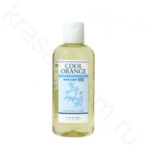 Lebel Cool Orange Hair Soap UC (Ultra Cool)