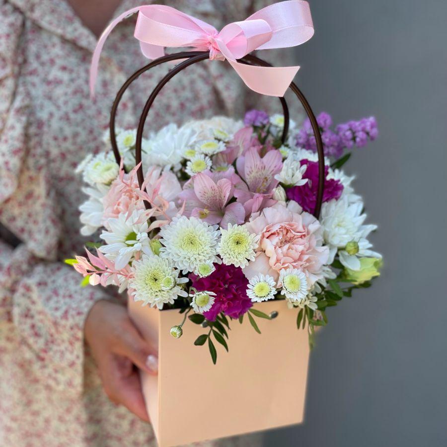 Цветочная сумочка №2