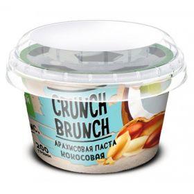 Crunch Brunch Арахисовая паста с кокосом (200 гр.)