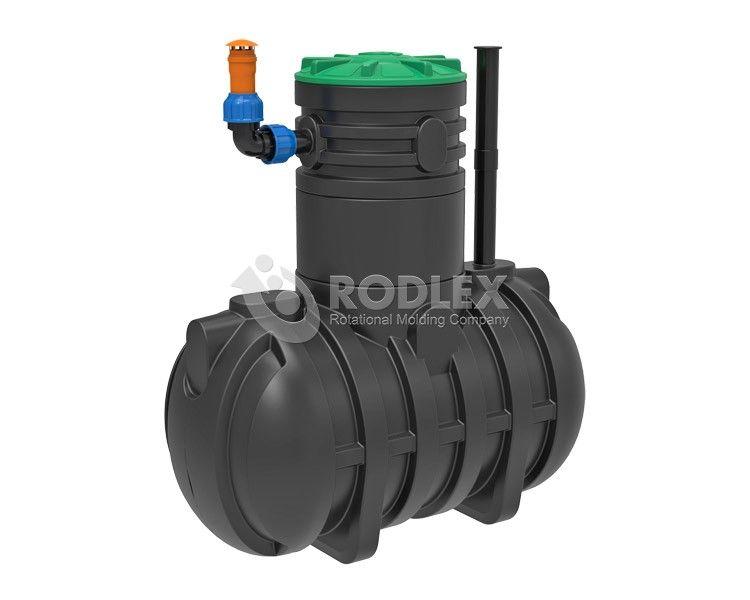 Емкость для топлива дизельного 2000 л., подземная.