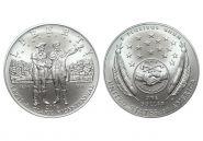 США 1 доллар 2004 года. 200 лет экспедиции Льюиса и Кларка P. UNC в капсуле
