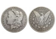 США 1 доллар 1891 года (1370) СЕРЕБРО