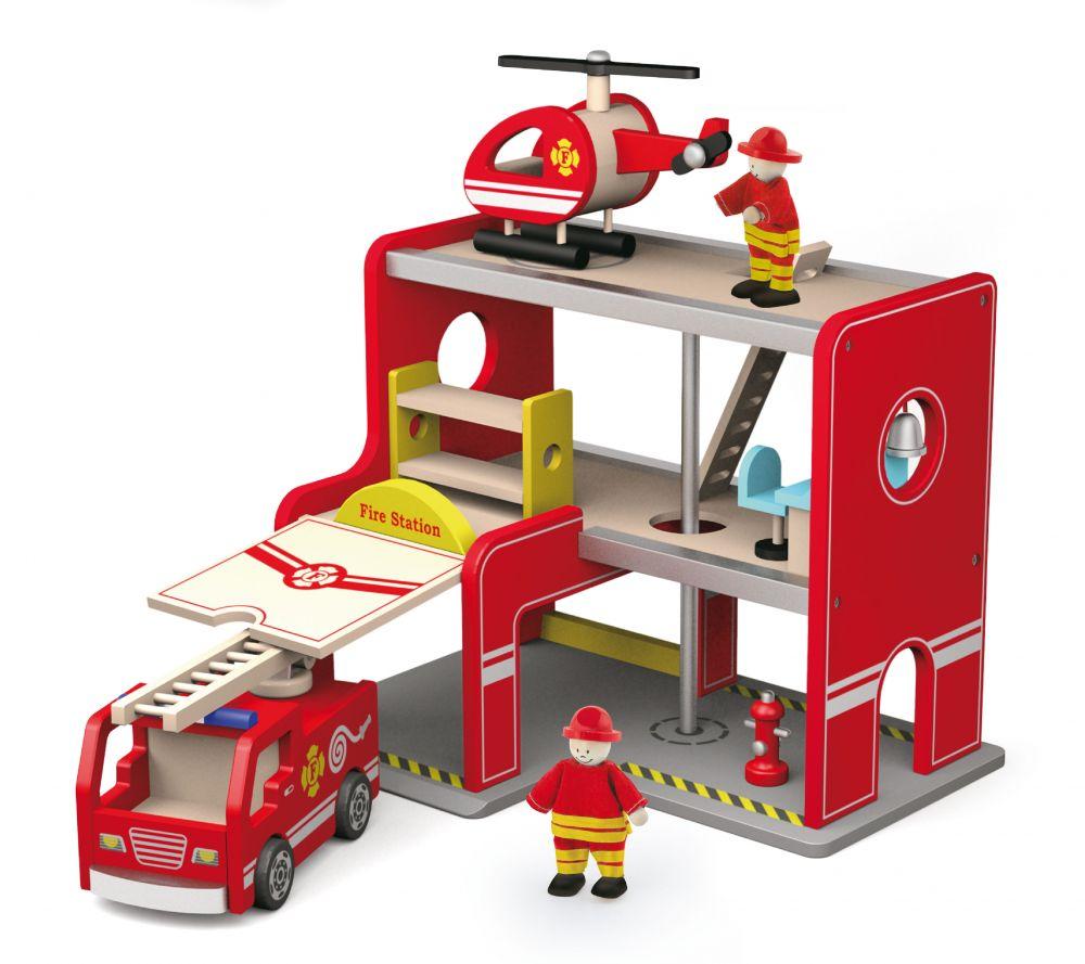 Набор деревянный Пожарная станция Вига