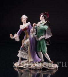 Мазурка, танцующая пара, Volkstedt, Германия, до 1935 года