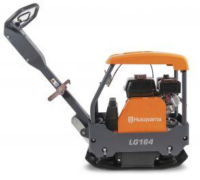 Виброплита реверсивная  LG 164  HUSQVARNA,  161 кг,28  кН,  Honda  GX160