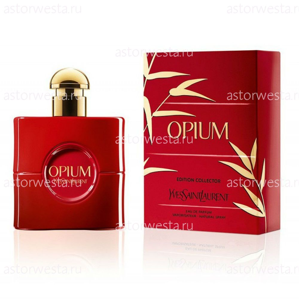 Парфюмерная вода Yves Saint Laurent Opium Rouge Fatal (Collector's Edition 2015), 90 мл (ПОД ЗАКАЗ)