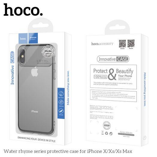 Защитный чехол HOCO Water rhyme series для iPhoneXS Max, черный